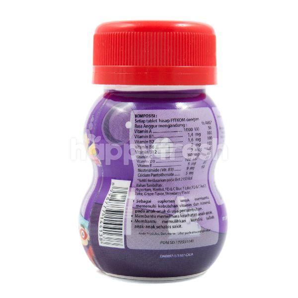 Product: Fitkom Grape Flavor Multivitamin Lozenges Tablet - Image 2