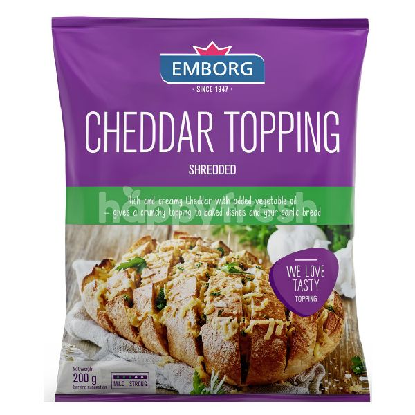 Product: Emborg Cheddar Topping - Image 1
