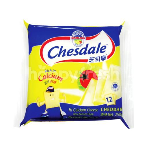 Product: Chesdale Cheese Cheddar Slices (12 Slices) - Image 1