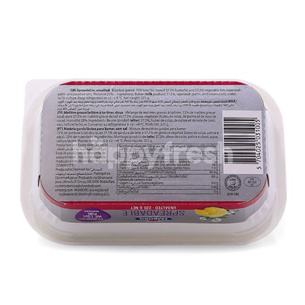 Product: Emborg Spreadable Unsalted Butter - Image 2