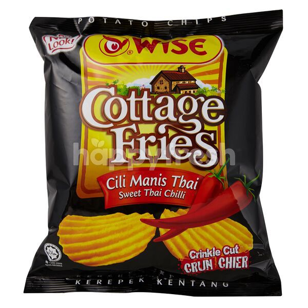 Product: Wise Cottage Fries Sweet Thai Chilli Potato Chips - Image 1