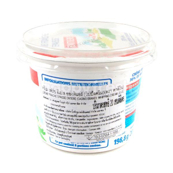 Product: Casino Thick Creme Fraiche 30% 200 ml - Image 2