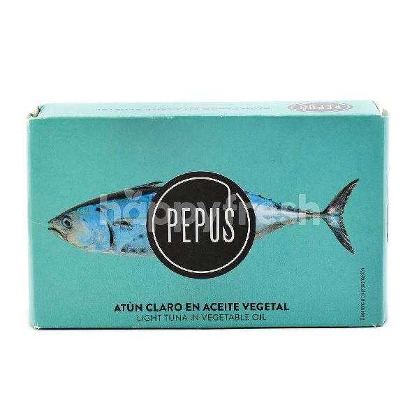 Product: Pepus Light Tuna In Vegetable Oil - Image 1