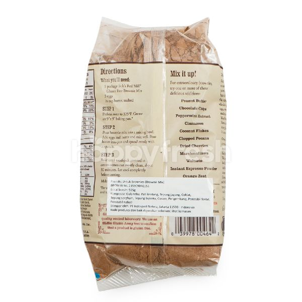 Product: Bob's Red Mill Gluten Free Brownie Mix Flour - Image 3