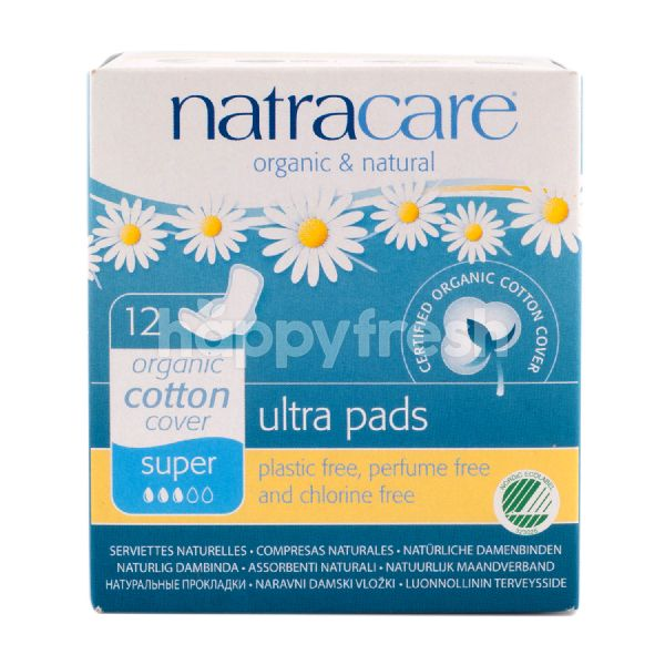 Product: NatraCare Organic & Natural Ultra Pads Super 28cm - Image 1