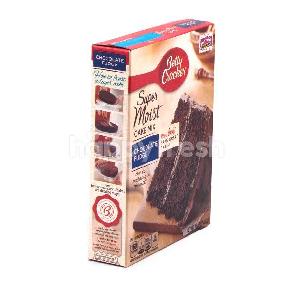 Product: Betty Crocker Super Moist Cake Mix Chocolate Fudge - Image 4