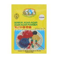 Swallow Globe Agar-Agar Powder Clear
