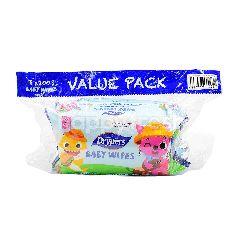 Drypers Baby Wipes (2 Packet)