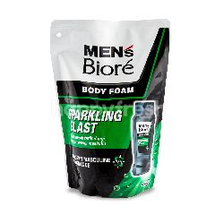 Biore Men's Sparkling Blast Body Foam