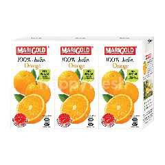 Marigold Uht 100% Orange Juice Drink (3X200Ml)