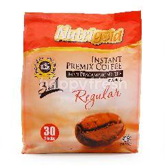 Nutrigold 3 In 1 Regulart Instant Premix Coffee (30 Sticks)
