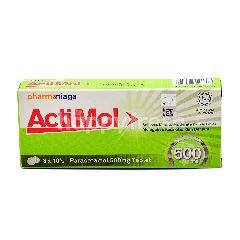 Acti Mol Paracetemol 500mg (30 Tablets)
