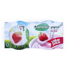 Greenfields Yogurt Rasa Stroberi Kemasan Hemat