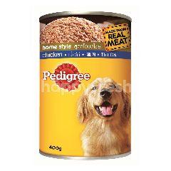 Pedigree Can Dog Wet Food Adult Chicken 400G Dog Food