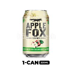 Apple Fox Cider Can 320ml