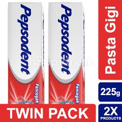 Pepsodent Classic Pasta Gigi 225g Twin-pack