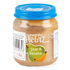 ไฮนซ์ อาหารเด็ก รสลูกแพรเข้มข้น & กล้วย 110 กรัม