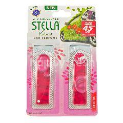 Stella Naturals Pengharum Mobil Isi Ulang Shine - Merah