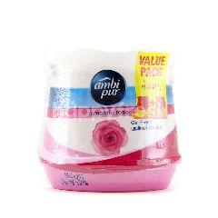 Ambi Pur Romantic Rose Freshener Gel (2 Pieces)
