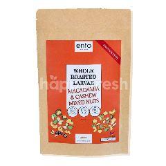 Ento Whole Roasted Larvae, Macadamia & Cashew Mixed Nuts