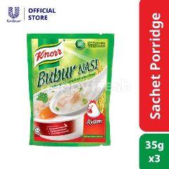Knorr 2 Min Instant Porridge Chicken 3 Sachets