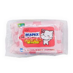 Diapex Soft Baby Wipes (30 Sheets)