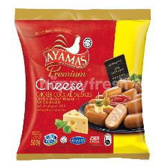 Ayamas Premium Cheese Chicken Cocktail Sausages
