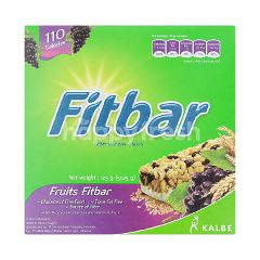 Fitbar Fruits Fiber Healthy Snack Bar