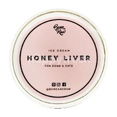 BONE AND RAW ไอศครีม รสตับและน้ำผึ้ง ถ้วยเล็ก