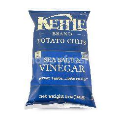 Kettle Brand Keripik Kentang Garam laut dan cuka