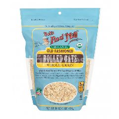 Bob's Red Mill Organic Old Fashoin Rolled Oats Whole Grain