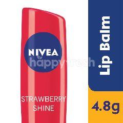 Nivea Shine Strawberry Fruity Lip Balm