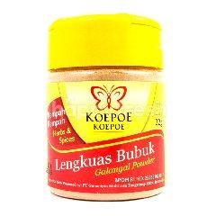 Koepoe Koepoe Lengkuas Bubuk