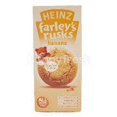 Heinz Farley's Krekers untuk Bayi Rasa Pisang