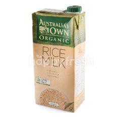 ออสเตรเลีย โอน ออแกร์นิค น้ำนมข้าว