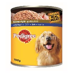 Pedigree Can Dog Wet Food Adult Chicken 700G Dog Food