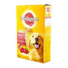 Pedigree Makanan Anjing Dewasa Rasa Daging dan Sayuran