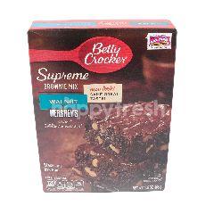 Betty Crocker Tepung Brownis Supreme dengan Kacang Kenari dan Kakao