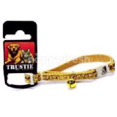 Trustie Cat Collar-Glitter Velvet (Gold)