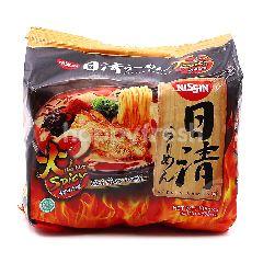 Nissin Instant Uma Kara Spicy Ramen (5 Pieces)