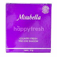 Mirabella Country Fresh Trio Eye Shadow 09 Dreamy