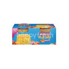 MARIGOLD Peach Fruit Jelly (2X123G)