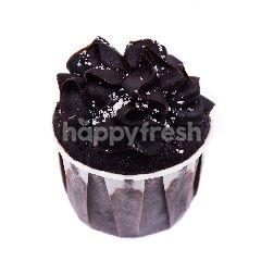 Choc Chip Ganache Cupcake