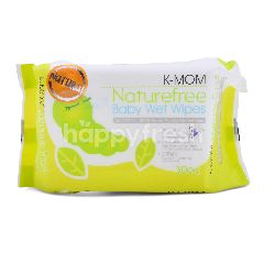 K-Mom Nature Free Baby Wet Wipes (30 Pieces)
