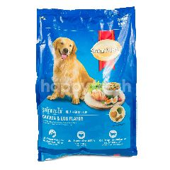 Smartheart Makanan Anjing Rasa Ayam dan Telur