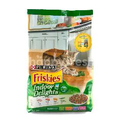 เพียวริน่า ฟริสกี้ สูตรอินดอร์ ดีไลท์ รสปลาแซลมอนและผัก