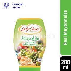 Lady's Choice Mayonnaise Lite Squeeze Dressings 280ML