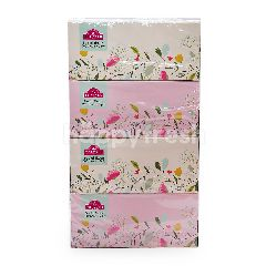 TOPVALU Facial Tissue (200 Sheets (2ply) x 4 Packets)