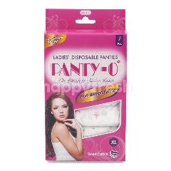 Panty-O Ladies Disposable Panties Size XL - Non Woven Fabric