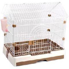 Trustie Rabbit / Guinea Pig Cages (Brown) (Medium)